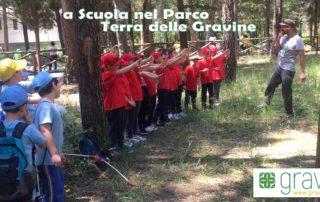 Gravina di Laterza, Terra delle Gravina, scuola nel parco, giochi in natura