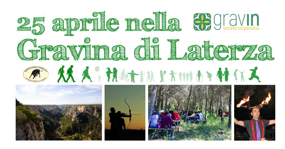 25 aprile, escursione, trekking, gravina di laterza
